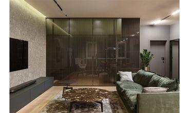 60平米一居室混搭风格储藏室设计图