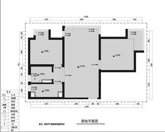 10-15万80平米田园风格客厅装修效果图
