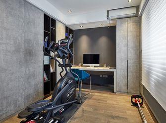130平米三室两厅现代简约风格健身室图片