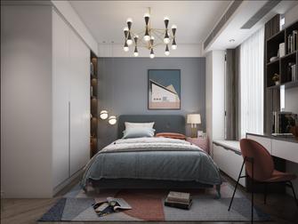 140平米四北欧风格卧室设计图