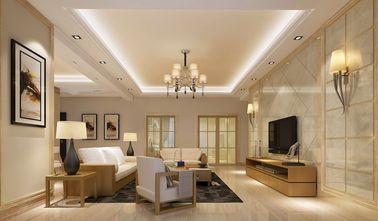 140平米四室两厅英伦风格客厅欣赏图