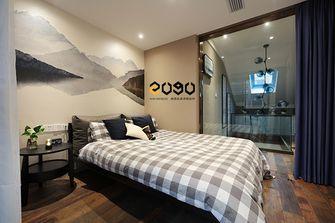 70平米三室三厅中式风格儿童房图