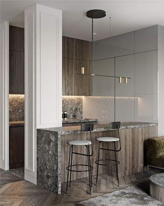 140平米三室两厅混搭风格厨房图