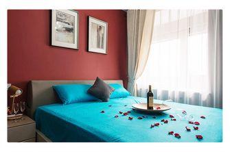 经济型100平米公寓英伦风格卧室设计图