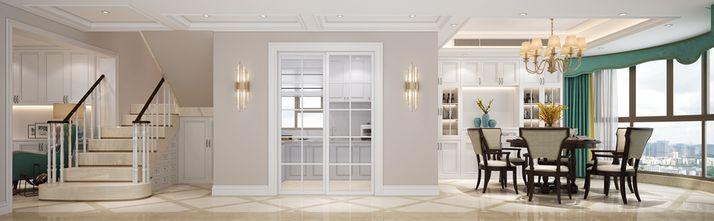 80平米三室一厅欧式风格餐厅图片