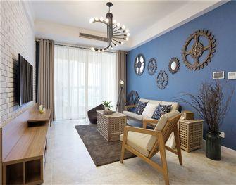 110平米三室两厅地中海风格客厅欣赏图