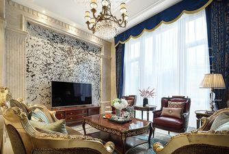 140平米复式欧式风格客厅装修效果图