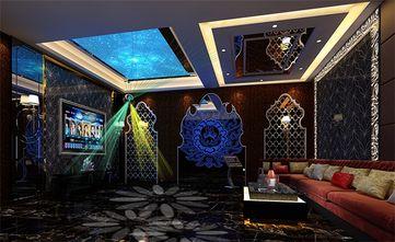 豪华型140平米别墅地中海风格影音室设计图