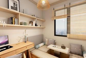 100平米三室三厅美式风格书房装修案例