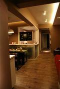 70平米现代简约风格餐厅装修案例