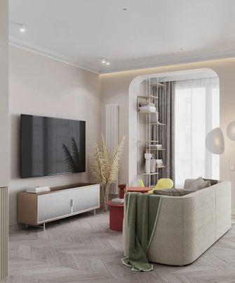 60平米一居室现代简约风格客厅图片大全
