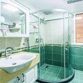90平米三室两厅地中海风格卫生间图片