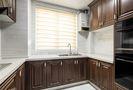 130平米三室一厅中式风格厨房设计图