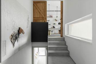 120平米三室两厅日式风格楼梯间图片