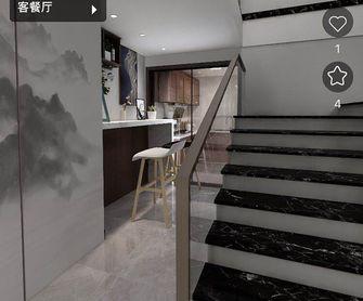 140平米三室两厅中式风格楼梯间效果图