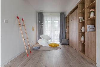 130平米三室两厅北欧风格书房装修图片大全