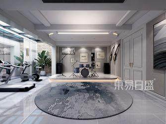140平米复式美式风格健身室图