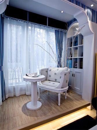 110平米三室两厅地中海风格书房图片