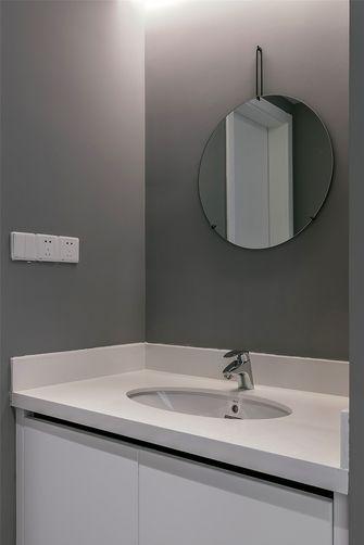 140平米四室一厅现代简约风格卫生间欣赏图