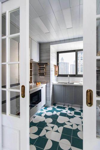 120平米三室两厅美式风格厨房欣赏图