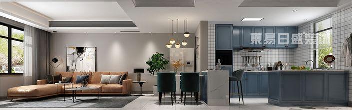 120平米别墅美式风格餐厅效果图