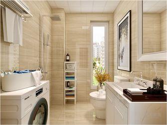 110平米三室两厅现代简约风格卫生间浴室柜装修图片大全