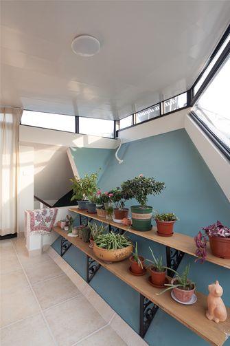 80平米美式风格阁楼装修效果图