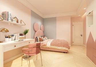 5-10万130平米三室一厅混搭风格儿童房效果图