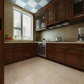 5-10万140平米复式现代简约风格厨房图片大全