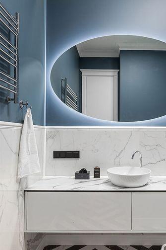 110平米公寓混搭风格卫生间欣赏图