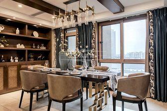 140平米四室四厅东南亚风格餐厅装修图片大全