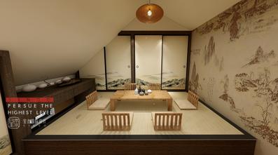 140平米别墅日式风格阁楼图片