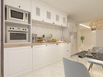 100平米现代简约风格餐厅橱柜装修图片大全