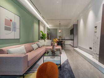10-15万80平米现代简约风格客厅图片大全