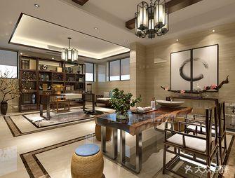 140平米复式中式风格客厅家具装修图片大全