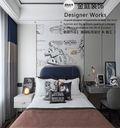140平米复式现代简约风格儿童房图片