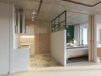 60平米一室一厅现代简约风格卧室图片