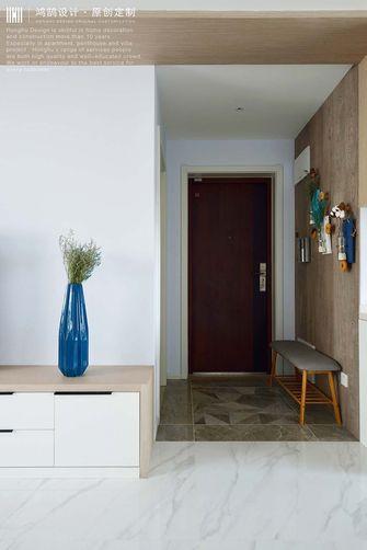 富裕型130平米三室两厅现代简约风格玄关设计图
