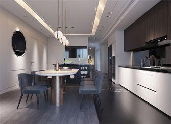 110平米三室两厅现代简约风格餐厅装修图片大全