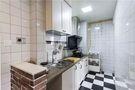 80平米三室两厅田园风格厨房欣赏图