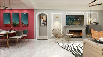 130平米三室两厅混搭风格走廊图