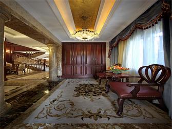 20万以上140平米三室三厅欧式风格楼梯图片
