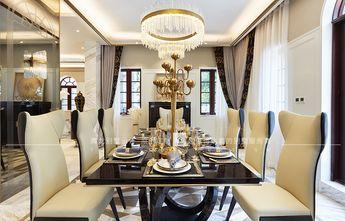 20万以上140平米别墅现代简约风格餐厅图片