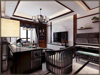 100平米中式风格客厅装修效果图