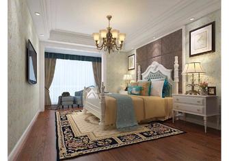 140平米三室一厅美式风格卧室设计图