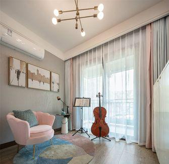 120平米三室两厅北欧风格影音室装修图片大全