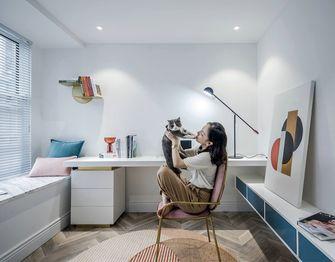 富裕型120平米四室两厅现代简约风格书房效果图