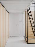 10-15万70平米北欧风格楼梯设计图