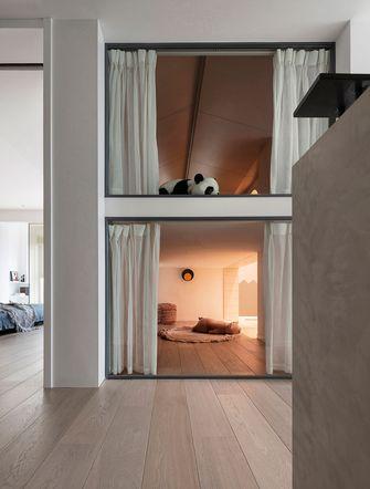 80平米复式北欧风格阳光房设计图