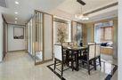 140平米三室两厅新古典风格走廊欣赏图